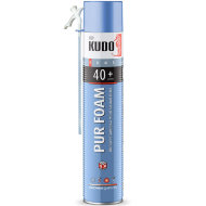Кудо 40+ / Монтажная пена KUDO HOME 40+ 1000 мл всесезонная.