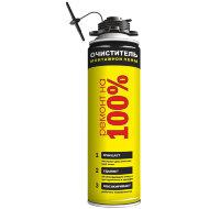 Ремонт на 100% Cleaner Очиститель монтажной пены 500 мл